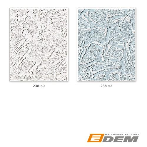 Papier peint blanc metallisé scintillement argent 1 rouleau à 15 m | 7,95 m2 EDEM 238-50  – Bild 3