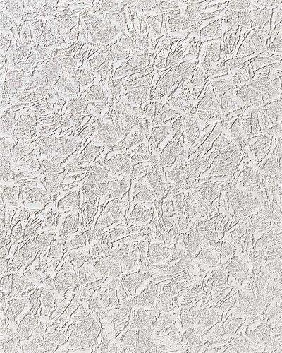 Papier peint blanc metallisé scintillement argent 1 rouleau à 15 m | 7,95 m2 EDEM 238-50  – Bild 1