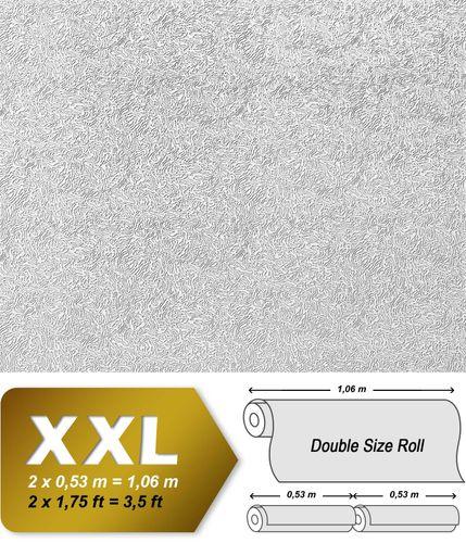 Papel pintado XXL no tejido blanco pintable EDEM 333-60 con textura decorativa para pintar encima 26,50 m2 – Imagen 2