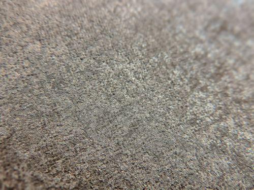 Uni kleuren behang ATLAS CLA-598-9 vliesbehang glad met vogel patroon glanzend bruin bruingrijs 5,33 m2 – Bild 2