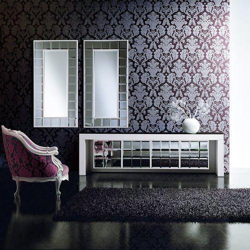 3D Barock-Tapete Vintage EDEM 752-34 hochwertige geprägte Luxus Klassik Tapete creme matt-weiß champagner platin-grau – Bild 3