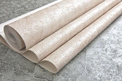 Papier peint aspect crépi EDEM 9077-20 papier peint gaufré à chaud avec dos intissé gaufré au style shabby chic brillant crème blanc ivoire clair 10,65 m2 – Bild 3