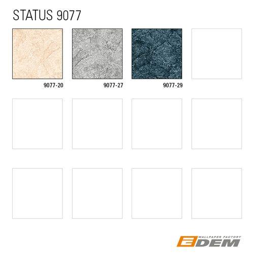 Spachtel Putz Tapete EDEM 9077-20 heißgeprägte Vliestapete geprägt im Shabby Chic Stil glänzend creme weiß hell-elfenbein 10,65 m2 – Bild 4