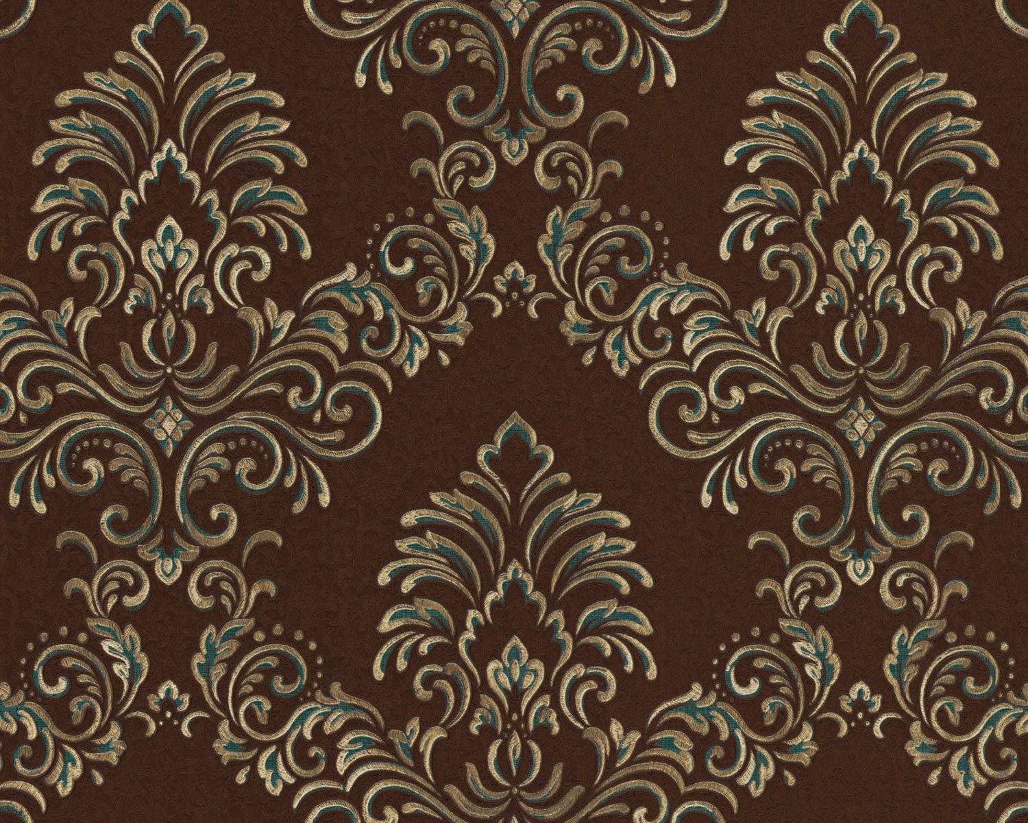 Details About Edem 9084 26 Baroque Wallcovering With Metallic Highlights Brown Gold 10 65 M2