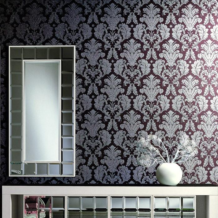 3d barock tapete vintage edem 752 35 luxus neo damask. Black Bedroom Furniture Sets. Home Design Ideas