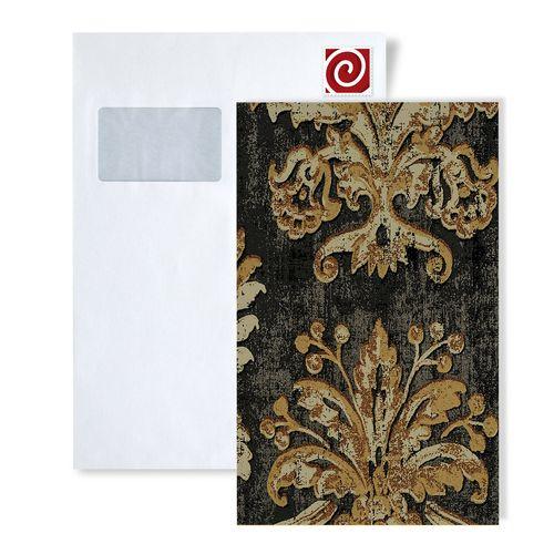 1 PIEZA DE MUESTRA S-602-XX ATLAS CLANDESTINO II Papel pintado barroco floral | MUESTRA de papel pintado en tamaño aprox DIN A4 – Imagen 7