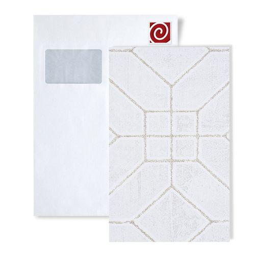 1 CAMPIONE S-5134-XX ATLAS HERITAGE Carta da parati geometrico grafico | CAMPIONE di carta da parati  in circa DIN A4 – Bild 1