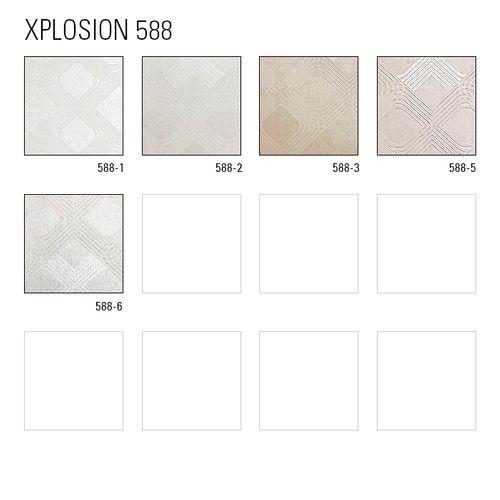 1 CAMPIONE S-588-XX ATLAS XPLOSION Carta da parati geometrico grafico | CAMPIONE di carta da parati  in circa DIN A4 – Bild 6