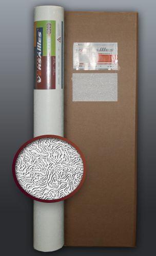 Behang glasvezel look EDEM 333-60 vliesbehang structuur behang overschilderbaar reliëfbehang wit | 4 rol 106 m2 – Bild 1