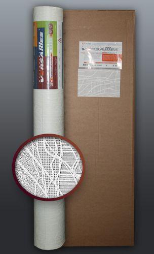 Behang glasvezel look EDEM 341-60 vliesbehang structuur behang overschilderbaar reliëfbehang wit | 4 rol 106 m2 – Bild 1