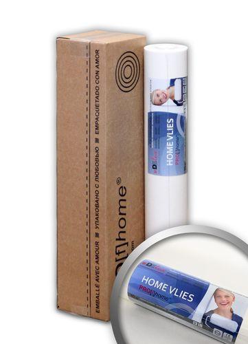 HomeVlies glatte überstreichbare Vliestapete weiß ohne Struktur Glattvlies Renoviervlies Malervlies Vlies-Tapete – Bild 1