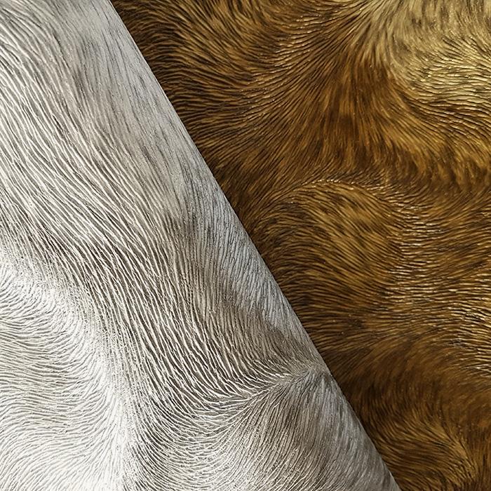 papier peint de luxe exclusif profhome 822305 papier peint vinyle gaufr d 39 aspect de fourrure. Black Bedroom Furniture Sets. Home Design Ideas