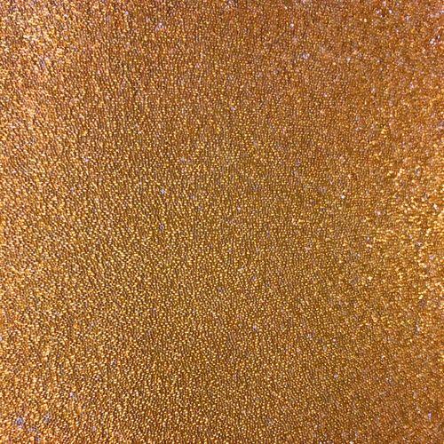 Luxus Glasperlen Wandverkleidung WallFace CBS13 CRYSTAL Uni Vliestapete handgearbeitet mit echten Glasperlen glänzend gold-braun 2,45 m2 – Bild 1