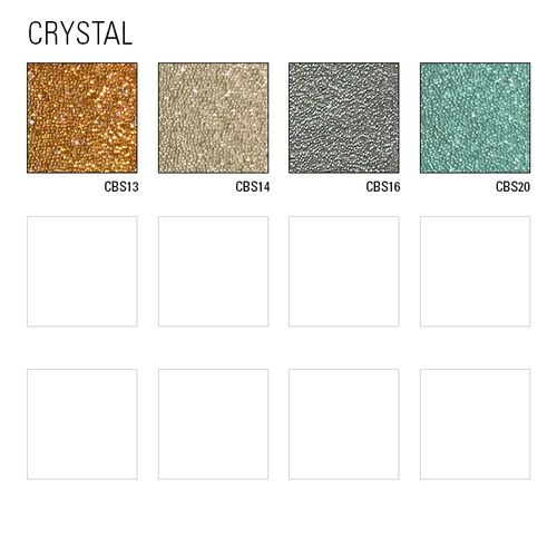 Luxus Glasperlen Wandverkleidung WallFace CBS14 CRYSTAL Uni Vliestapete handgearbeitet mit echten Glasperlen glänzend beige 2,45 m2 – Bild 4