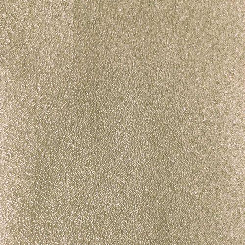 Revestimiento de pared de lujo perlas de vidrio WallFace CBS14-4 CRYSTAL unicolor papel pintado de lujo no tejido hecho a mano con perlas de vidrio reales brillante beige 9,80 m2 rollo