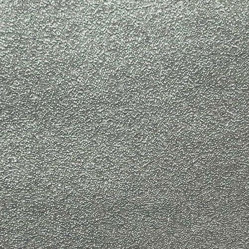 Luxus Glasperlen Wandverkleidung WallFace CBS16 CRYSTAL Uni Vliestapete handgearbeitet mit echten Glasperlen glänzend silber-grau 2,45 m2 – Bild 8