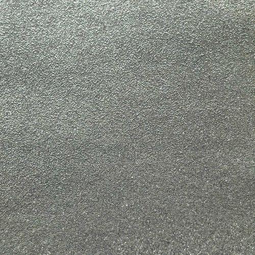 Revêtement mural en perles de verre de luxe WallFace CBS16-4 CRYSTAL papier peint non tissé uni fabriqué à la main avec des vraies perles de verre brillant argent-gris 9,80 m2 rouleau – Bild 1