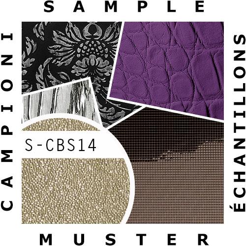 1 ÉCHANTILLON S-CBS14 WallFace CRYSTAL perles de verre | ÉCHANTILLON papier peint au format A4 – Bild 2