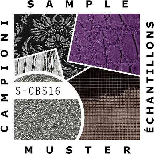 1 PIEZA DE MUESTRA S-CBS16 WallFace CRYSTAL perlas di vidrio | MUESTRA de Papel pintado en tamaño aprox DIN A4 – Imagen 2