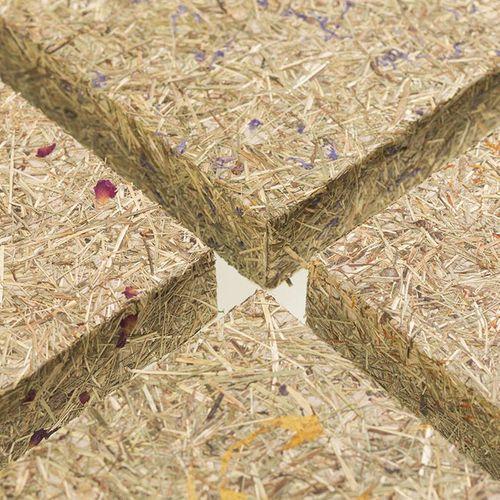 Wandverkleidung AL-11003-SA ALPINE ROSE 100% natürliches Almwiesen-Dekor braun – Bild 5