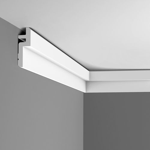 Cornice moulding Coving  Moulding for indirect lighting 2 m Orac Decor C394 MODERN STEPS – Bild 7