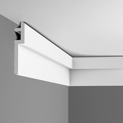 Cornice moulding Coving  Moulding for indirect lighting 2 m Orac Decor C395 MODERN STEPS – Bild 10