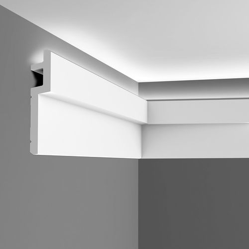 Cornice moulding Coving  Moulding for indirect lighting 2 m Orac Decor C395 MODERN STEPS – Bild 9