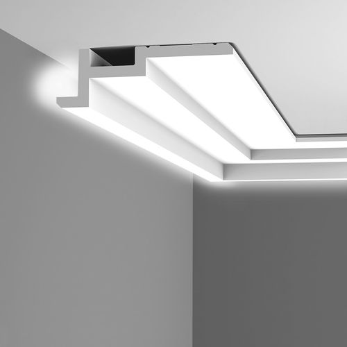 Cornice moulding Coving  Moulding for indirect lighting 2 m Orac Decor C396 MODERN STEPS – Bild 13