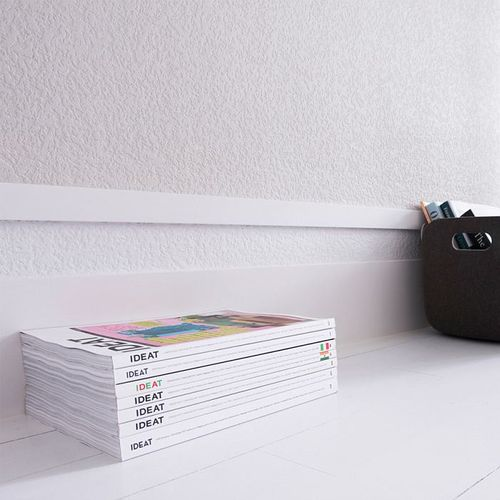 Plint Orac Decor SX163 AXXENT SQUARE multifunctionele plint wandlijst sierlijst tijdeloos klassieke stijl wit 2 m – Bild 5