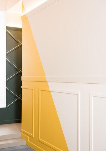 Battiscopa Orac Decor SX184 AXXENT CASCADE zoccolino cornice parete profilo multifunzione design moderno bianco 2 m – Bild 3