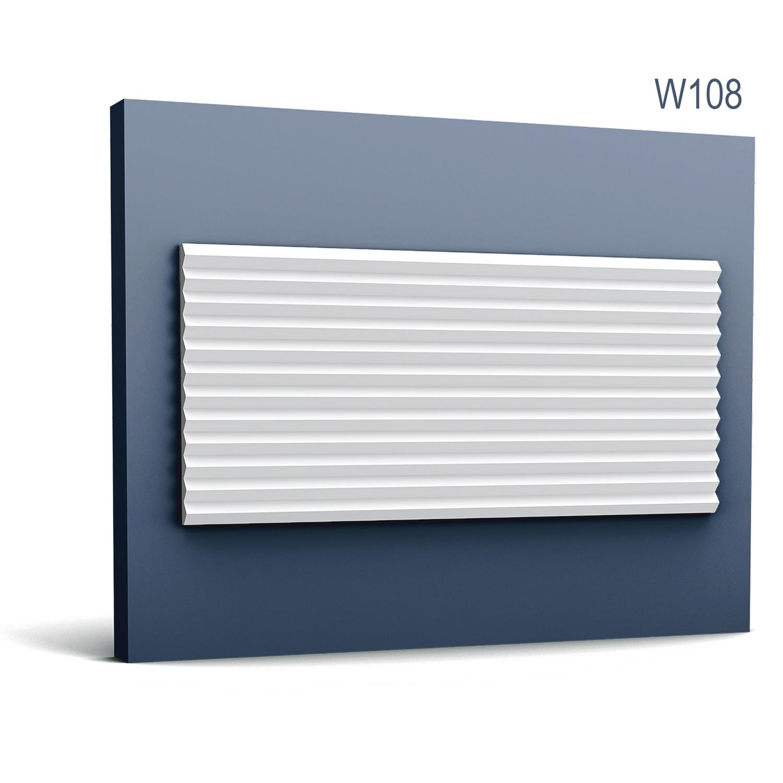 1 SAMPLE PIECE Orac Decor MODERN S-W108 Length 10 cmSAMPLE of 3d wall panel