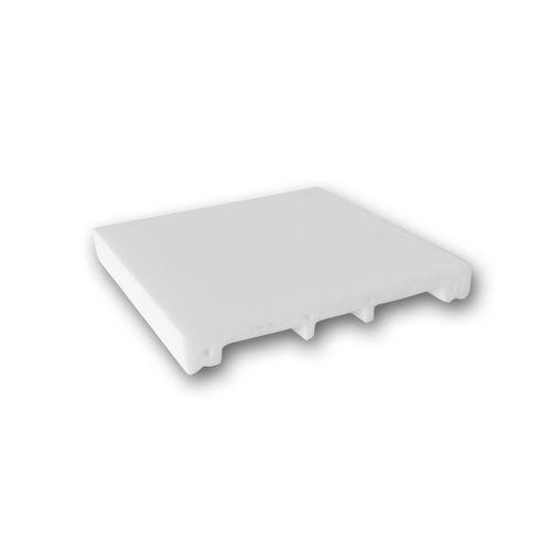 1 PIEZA DE MUESTRA S-SX163 Orac Decor AXXENT | MUESTRA Zócalo Moldura decorativa pared Longitud aprox 10 cm