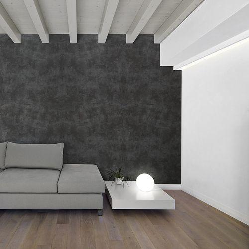 Dekorpaneel Stein Optik WallFace 19798 Antigrav CEMENT Dark Wandverkleidung strukturiert in Beton Optik matt anthrazit 2,6 m2 – Bild 2