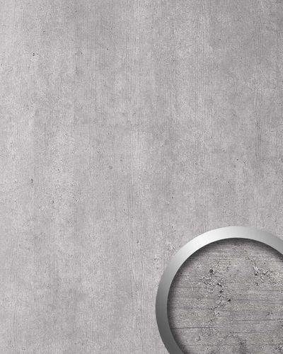 Wandpaneel Stein Optik WallFace 19563 Antigrav CEMENT Light Dekorpaneel strukturiert in Beton Optik matt grau hell-grau 2,6 m2 – Bild 1