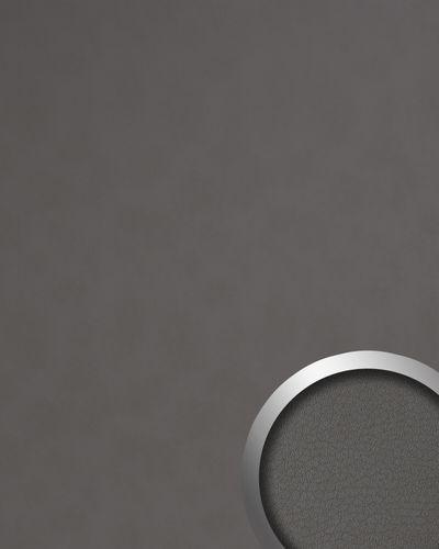 Wandpaneel Nappaleder Optik WallFace 19763 Antigrav Charcoal Light Dekorpaneel glatt in Leder Optik matt grau quarz-grau 2,6 m2 – Bild 1