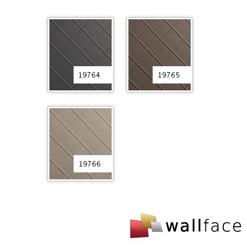 Wandverkleidung Nappaleder Optik WallFace 19766 Antigrav CORD Stony Ground Wandpaneel glatt in Leder Optik matt beige 2,6 m2 – Bild 2