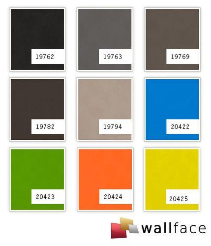 Wandverkleidung Nappaleder Optik WallFace 19769 Antigrav Dove Tale Wandpaneel glatt in Leder Optik matt braun grau-beige 2,6 m2 – Bild 2