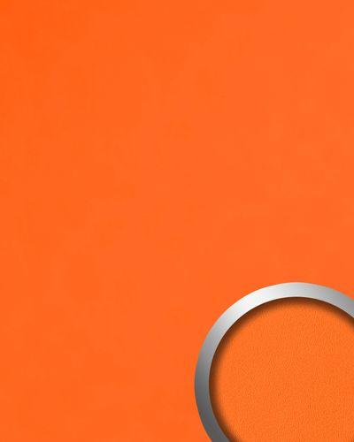 Dekorpaneel Nappaleder Optik WallFace 20424 Antigrav Pumpkin Orange Wandverkleidung glatt in Leder Optik matt orange 2,6 m2 – Bild 1