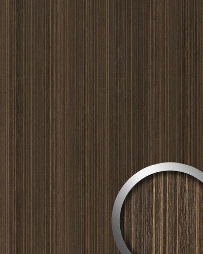 Wandpaneel Natur Dekor WallFace 19571 Antigrav Wenge Wood Dekorpaneel strukturiert in Holz Optik matt braun dunkel-braun 2,6 m2 – Bild 1