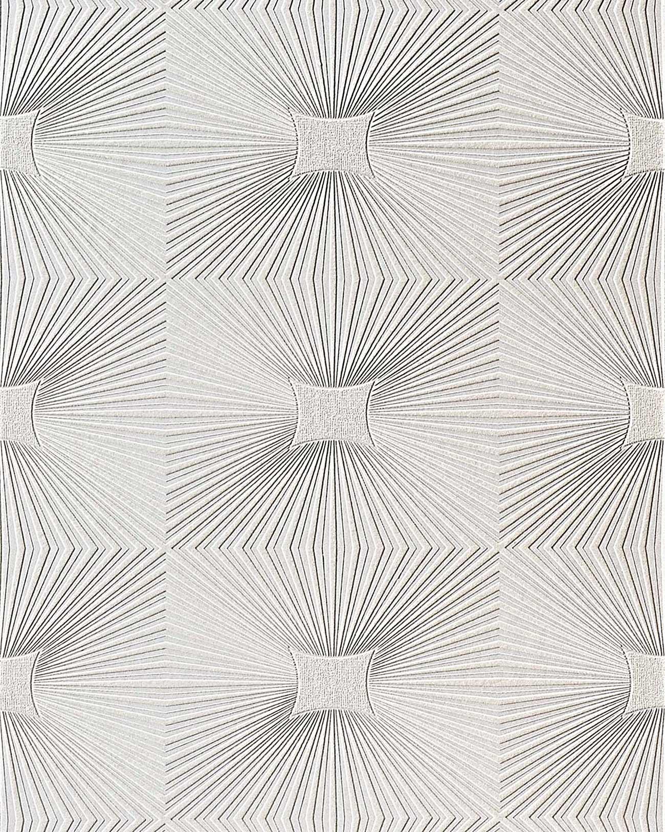 papel pintado vinlico edem para techos y paredes con textura decorativa de paneles en blanco