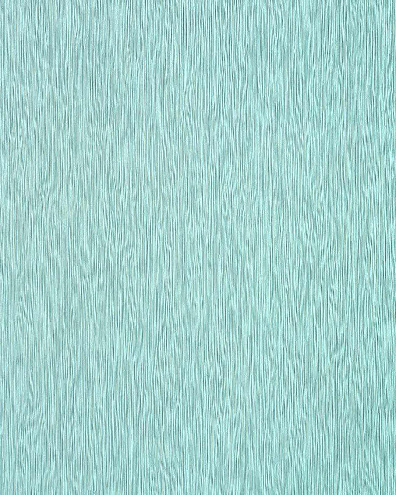 effen behang edem 118 26 turquois vinyl behang licht turkoois met