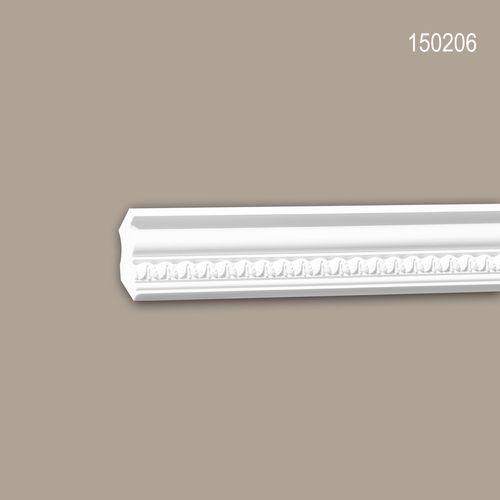 Eckleiste PROFHOME 150206 Zierleiste Stuckleiste Neo-Klassizismus-Stil weiß 2 m – Bild 1