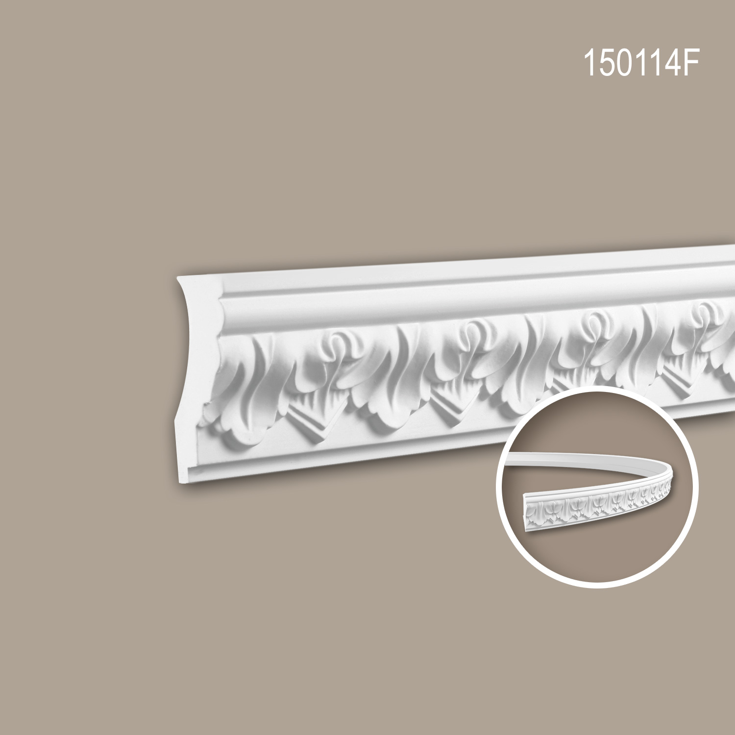 Cornice Moulding Decorative Moulding Flexible Moulding For Decoration 2 M 150114f Profhome Ceres Webshop