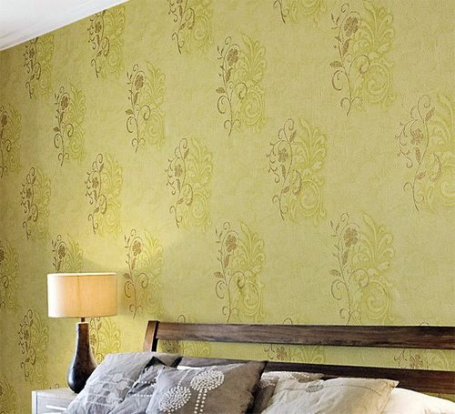 Antique wallpaper wall EDEM 926-34 Wallcovering deluxe heavyweight floral non-woven plaster flower beige bronze  – Bild 3