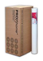 Profhome Renoviervlies 130 g Malervlies glattes Vlies rissüberbrückende Vliestapete weiß | 168,75 qm 1 Karton 9 Rollen