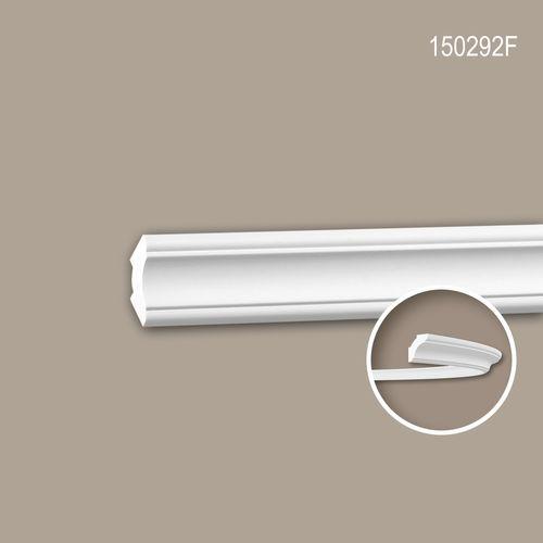 Eckleiste PROFHOME 150292F Stuckleiste Flexible Leiste Zierleiste Neo-Klassizismus-Stil weiß 2 m – Bild 1