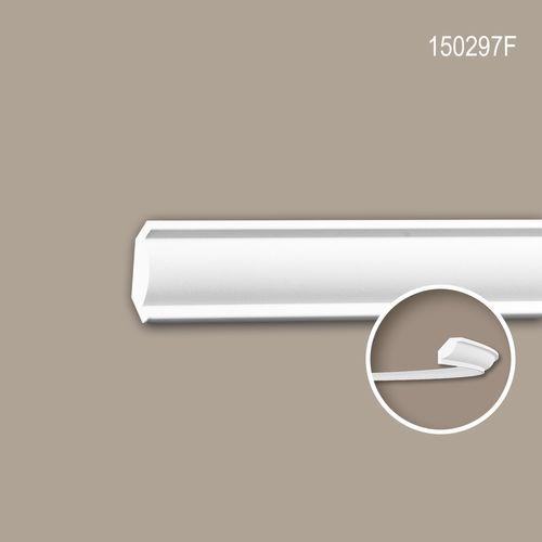Eckleiste PROFHOME 150297F Stuckleiste Flexible Leiste Zierleiste Neo-Klassizismus-Stil weiß 2 m – Bild 1