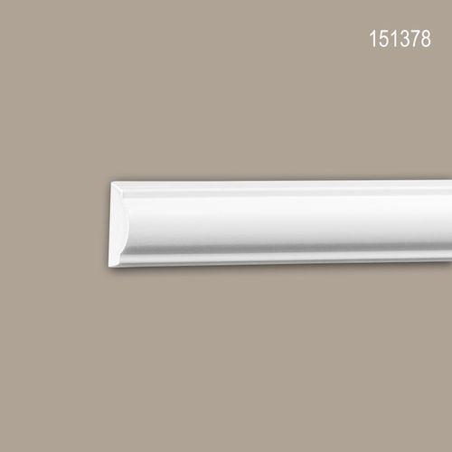 Wand- und Friesleiste PROFHOME 151378 Stuckleiste Zierleiste Friesleiste Neo-Klassizismus-Stil weiß 2 m – Bild 1