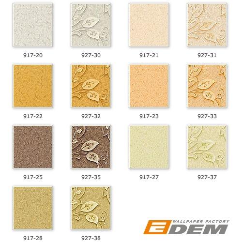 Carta da parati di lusso EDEM 927-31 a rilievo in crema bianco perla oro non tessuto 10,65 mq - Rivestimento murale – Bild 3