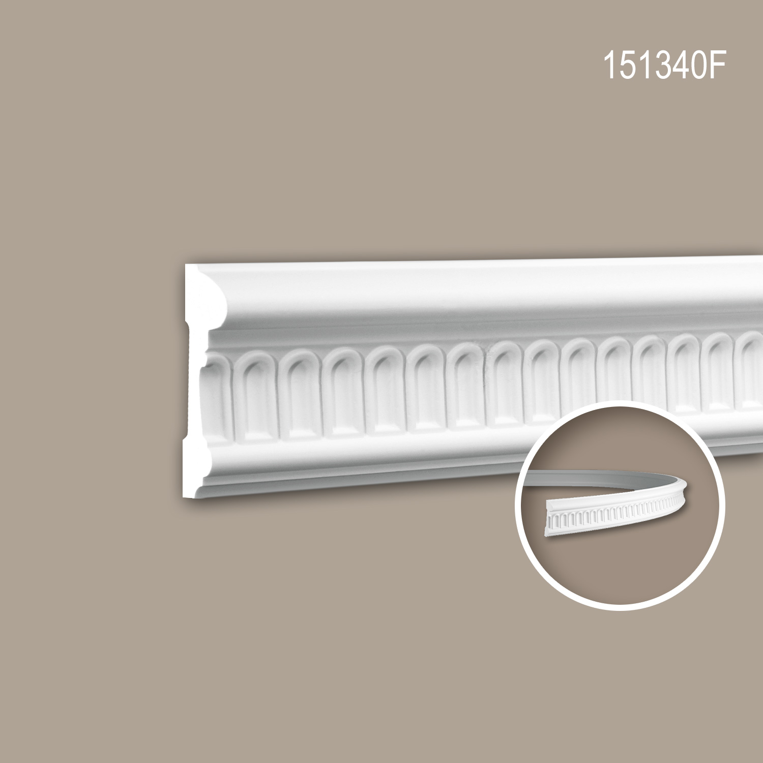 Panel Moulding Moulding For Decoration Flexible Moulding Decorative Moulding 2 M 151340f Profhome Ceres Webshop